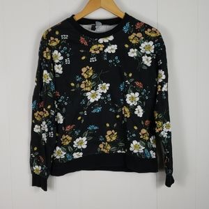 Divided H&M : Floral Botanical Sweatshirt